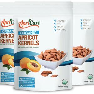 Organic Apricot Kernels 3-Pack